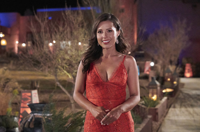 THE BACHELORETTE - Ò1701Ó Ð Katie Thurston sets off on her journey to find love with her charm, wit and take-no-nonsense attitude that fans fell in love with during her time on ÒThe Bachelor.Ó With the help of former Bachelorettes and mentors Kaitlyn Bristowe and Tayshia Adams by her side, Katie is ready to meet her men; with 30 lucky potential suitors pulling out all the stops, props and moves in hopes of catching her eye before the first rose ceremony. Strap in, itÕs going to be a season like no other on ÒThe Bachelorette,Ó airing MONDAY, JUNE 7 (8:00-10:00 p.m. EDT), on ABC. (ABC/Craig Sjodin) KATIE THURSTON