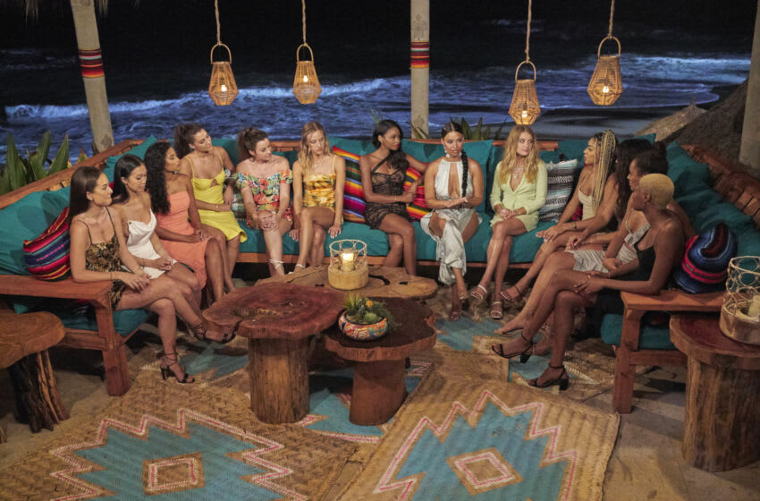 """BACHELOR IN PARADISE - """"708"""" – Heading into the long-awaited cocktail party, five women prepare to be sent home, but first, they'll have to make it through one of the craziest nights in Paradise history. Starting off with a bang, the beach's most controversial couple faces a reckoning they can't come back from. Then, one couple pays a visit to the Boom Boom Room, another endures a birthday breakup of epic proportions, and one unlucky lady gets a second chance at love, all before the rose ceremony even begins. When the roses are finally handed out, there's one more surprise in store…WHAT?! Lil Jon has arrived as the next guest host and he's not playing around, OKAY? In fact, he brought a whole new batch of guys with him who will make their entrances soon. Later, as a new day begins, it feels like a fresh start in Paradise. But is there more hope or heartbreak on the horizon for these beachgoers? Only time will tell on """"Bachelor in Paradise,"""" TUESDAY, SEPT. 14 (8:00-10:01 p.m. EDT), on ABC. (ABC/Craig Sjodin) BACHELOR IN PARADISE"""