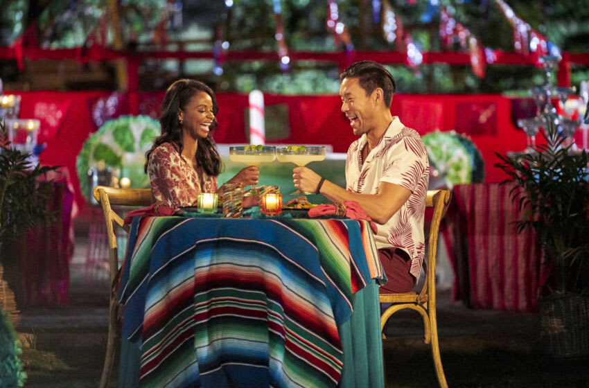 BACHELOR IN PARADISE - Ò708Ó Ð Heading into the long-awaited cocktail party, five women prepare to be sent home, but first, theyÕll have to make it through one of the craziest nights in Paradise history. Starting off with a bang, the beachÕs most controversial couple faces a reckoning they canÕt come back from. Then, one couple pays a visit to the Boom Boom Room, another endures a birthday breakup of epic proportions, and one unlucky lady gets a second chance at love, all before the rose ceremony even begins. When the roses are finally handed out, thereÕs one more surprise in storeÉWHAT?! Lil Jon has arrived as the next guest host and heÕs not playing around, OKAY? In fact, he brought a whole new batch of guys with him who will make their entrances soon. Later, as a new day begins, it feels like a fresh start in Paradise. But is there more hope or heartbreak on the horizon for these beachgoers? Only time will tell on ÒBachelor in Paradise,Ó TUESDAY, SEPT. 14 (8:00-10:01 p.m. EDT), on ABC. (ABC/Craig Sjodin) NATASHA, JOE P.