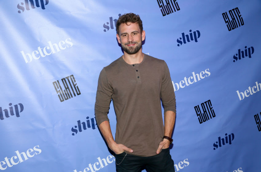 NEW YORK, NEW YORK - MARCH 12: Nick Viall attends the Betches Media Bachelor Finale Viewing Party Presented By Ship on March 12, 2019 at Slate New York in New York City. (Photo by Astrid Stawiarz/Getty Images for Betches & Ship)