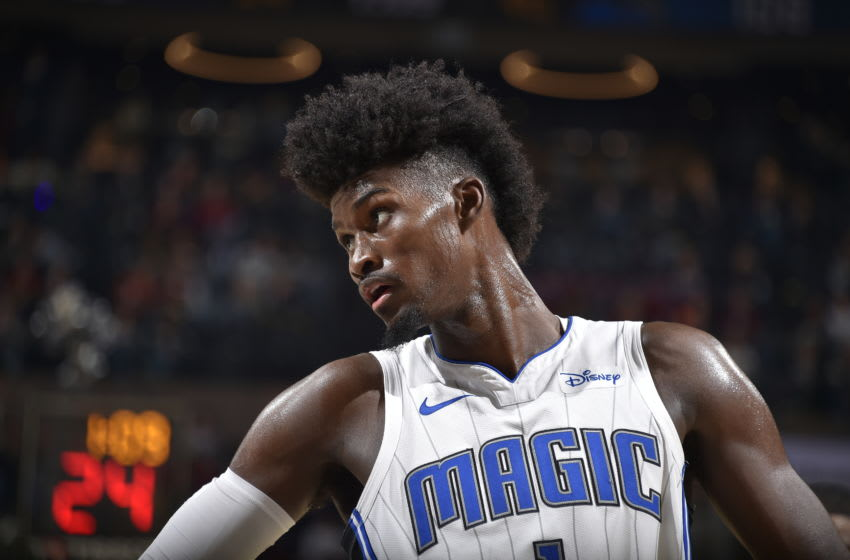Jonathan Isaac of the Orlando Magic. (Photo by David Liam Kyle/NBAE via Getty Images)