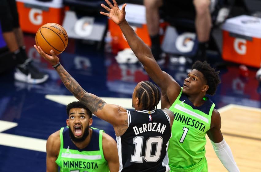 San Antonio Spurs DeMar DeRozan (Photo by Harrison Barden/Getty Images)