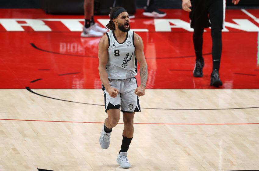San Antonio Spurs Patty Mills (Photo by Abbie Parr/Getty Images)