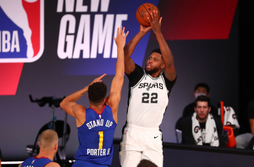 San Antonio Spurs Rudy Gay (Photo by Kim Klement-Pool/Getty Images)