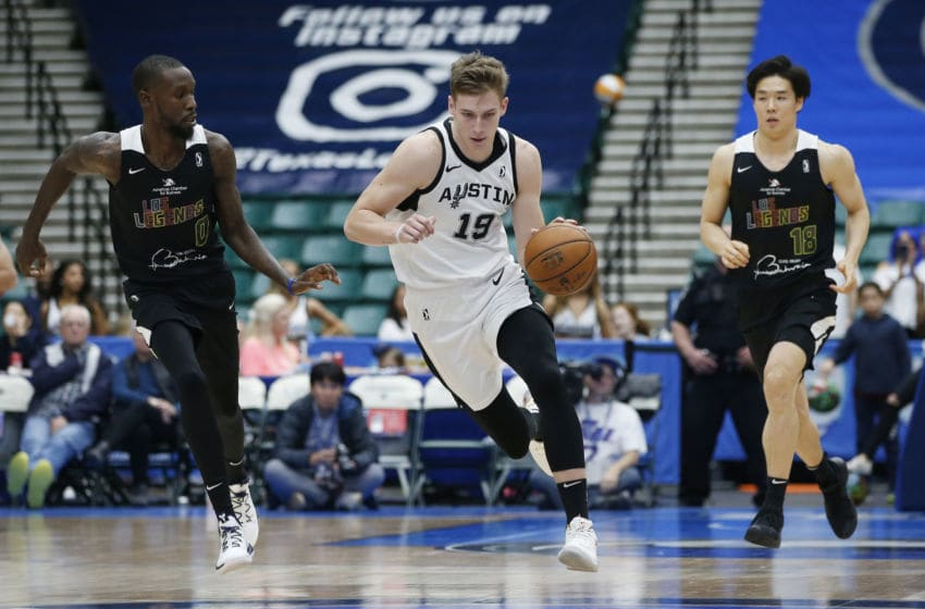 Luka Samanic of the Austin Spurs. (Photo by Tim Heitman/NBAE via Getty Images)
