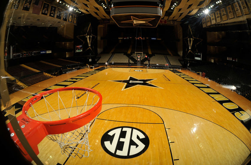 NASHVILLE, TENNESSEE - JANUARY 26: The general atmosphere of the court at Memorial Gym on January 26, 2016 in Nashville, Tennessee. (Photo by Frederick Breedon/Getty Images)