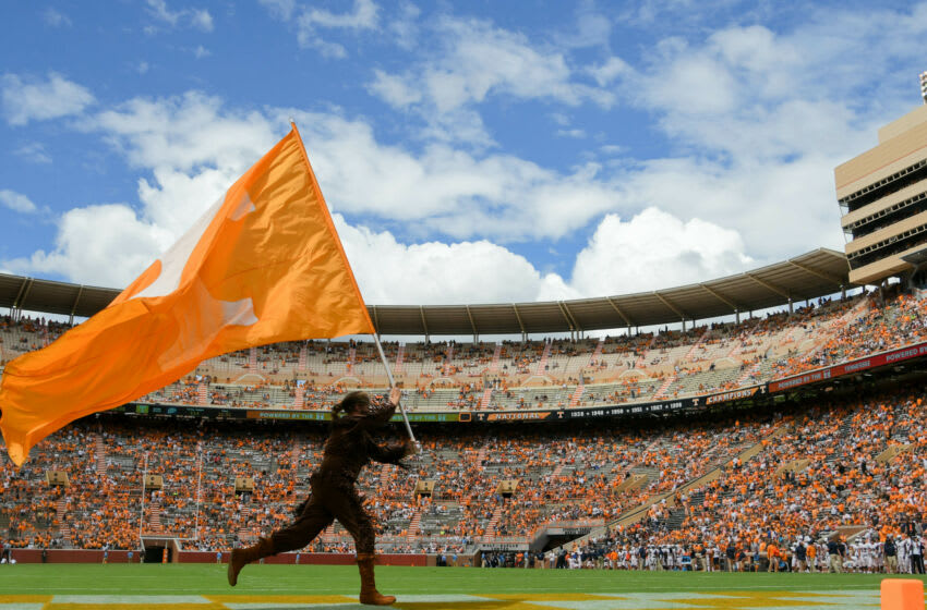 Sep 15, 2018; Knoxville, TN, USA; General view during the second half of the game between the Tennessee Volunteers and UTEP Miners at Neyland Stadium. Tennessee won 24 to 0. Mandatory Credit: Randy Sartin-USA TODAY Sports