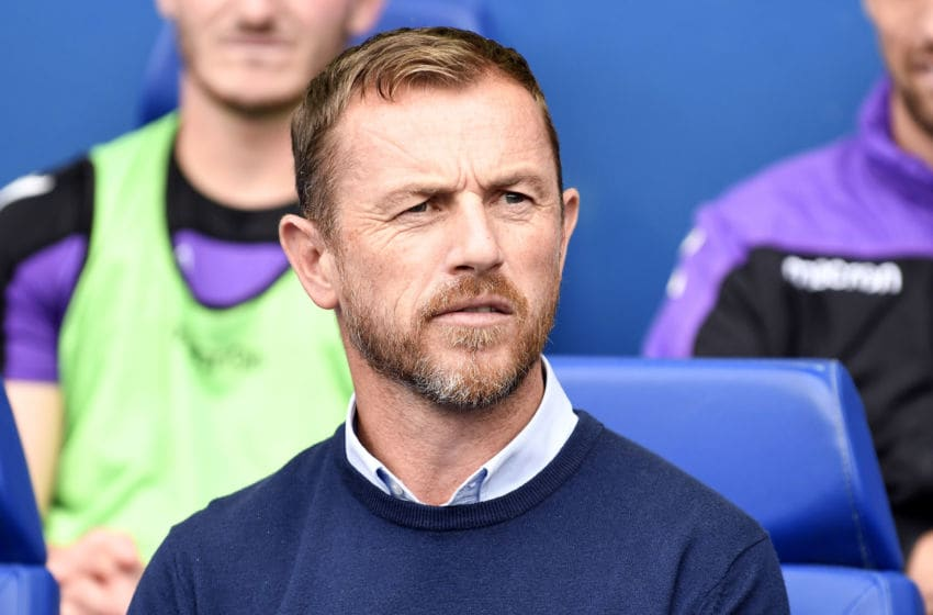 SHEFFIELD, ENGLAND - SEPTEMBER 15: Stoke City manager Gary Rowett looks on prior to the Sky Bet Championship match between Sheffield Wednesday and Stoke City at Hillsborough Stadium on September 15, 2018 in Sheffield, England. (Photo by George Wood/Getty Images)