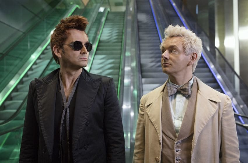 Good Omens -- Photo credit: Chris Raphael/Amazon Prime Video -- Acquired via epk.tv