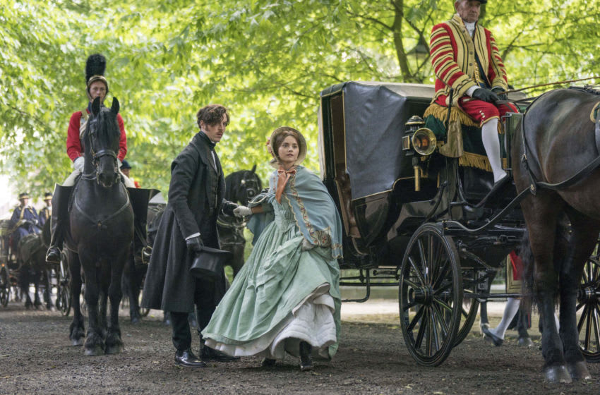 MASTERPIECE Victoria, Season 3 Acquired via PBS Press Room Episode Two Sunday, January 20, 2019; 9-10pm ET Victoria must decide whether to fight the Chartists with force or allow them to present their petition. Picture Shows: Prince Albert played by Tom Hughes and Queen Victoria played by Jenna Coleman For editorial use only. Courtesy of Aimee Spinks/ITV Plc for MASTERPIECE