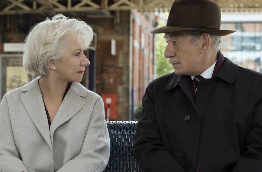 (L-r) HELEN MIRREN as Betty McLeish and IAN McKELLEN as Roy Courtnay in New Line Cinema's suspense thriller