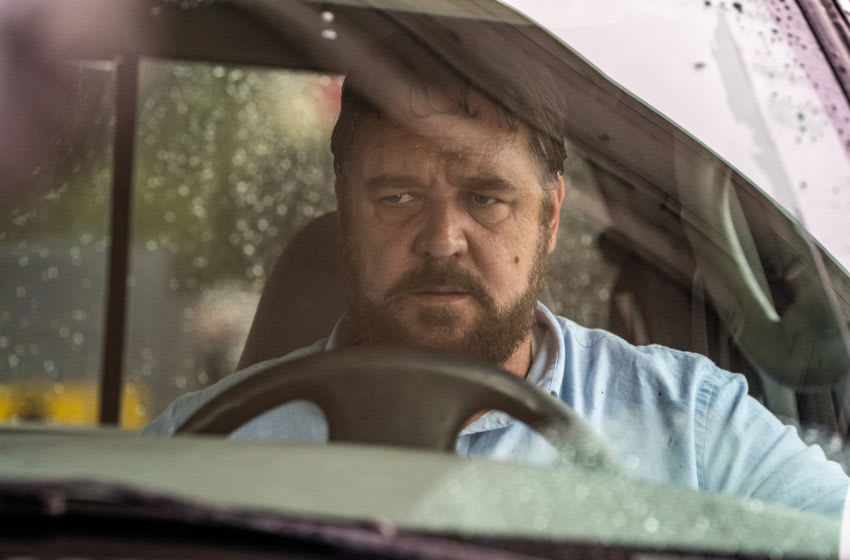 "Russell Crowe stars as ""The Man"" in the psychological thriller UNHINGED. Image Courtesy Skip Bolen/Solstice Studios"