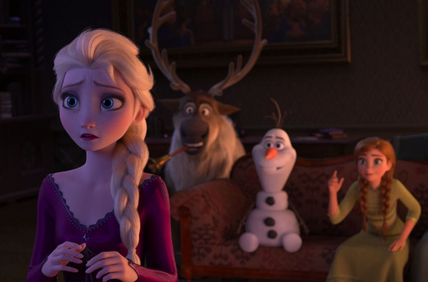 "In ""Frozen 2,"" Elsa is grateful her kingdom accepts her and she works hard to be a good queen. Deep down, she wonders why she was born with magical powers. The answers are calling her, but she'll have to venture far from Arendelle to find them. Featuring the voices of Idina Menzel, Kristen Bell, Jonathan Groff and Josh Gad, Walt Disney Animation Studios' ""Frozen 2"" opens on Nov. 22, 2019. © 2019 Disney. All Rights Reserved."