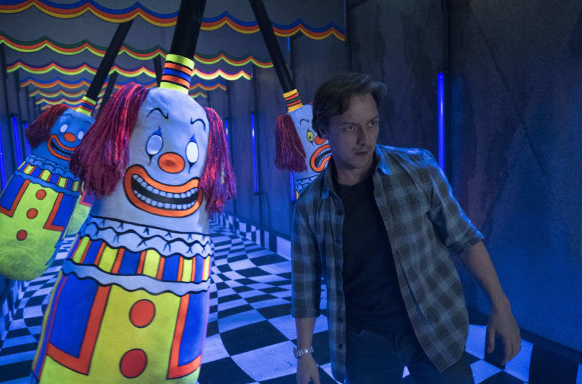 JAMES McAVOY as Bill Denbrough in New Line Cinema's horror thriller