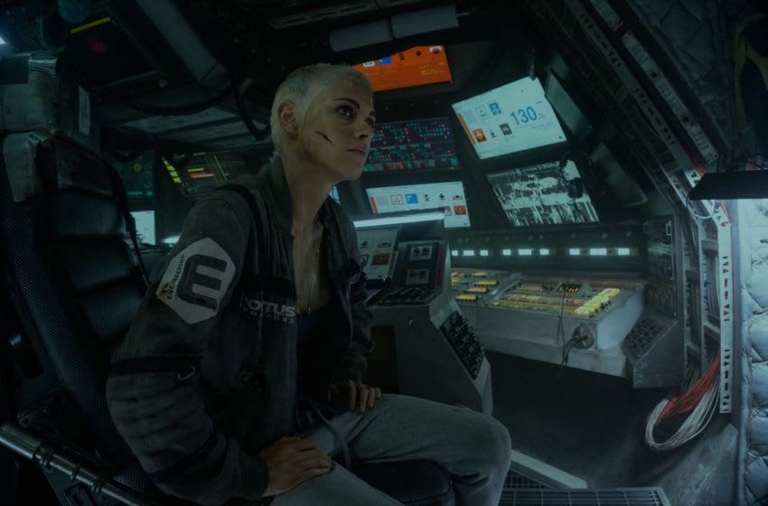 """Kristen Stewart stars in Twentieth Century Fox's """"Underwater"""".. Image Courtesy Alan Markfield/Twentieth Century Fox"""