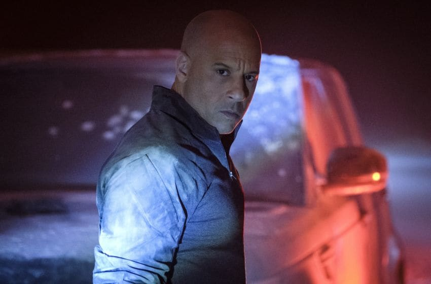 Bloodshot (Vin Diesel) in Columbia Pictures' BLOODSHOT.