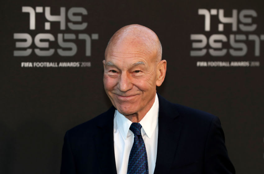 LONDON, ENGLAND - SEPTEMBER 24: Actor Patrick Stewart arrives on the Green Carpet ahead of The Best FIFA Football Awards at Royal Festival Hall on September 24, 2018 in London, England. (Photo by Dan Istitene/Getty Images)