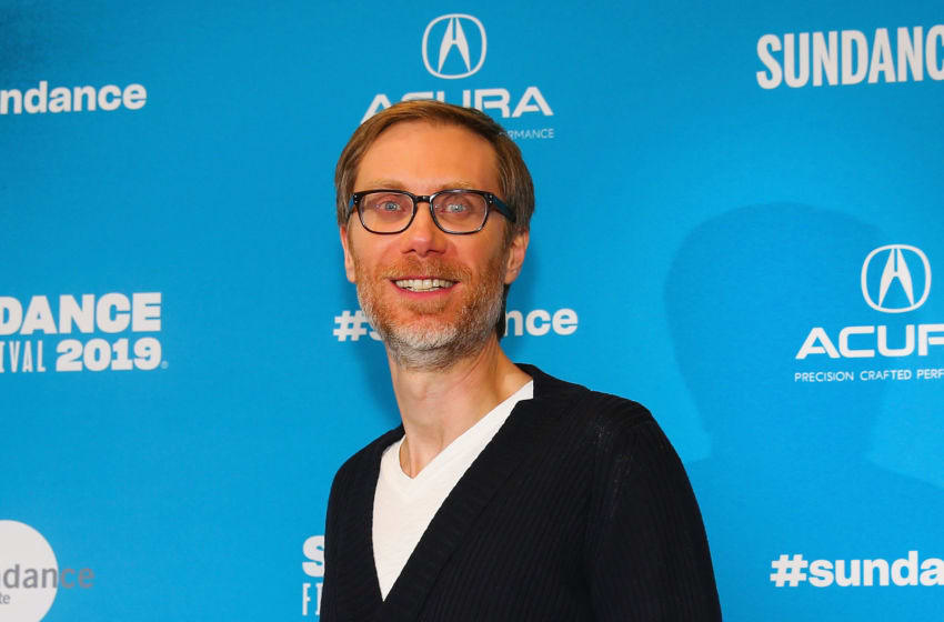 PARK CITY, UTAH - JANUARY 28: Executive producer Stephen Merchant poses for a photo at a Sundance special screening of