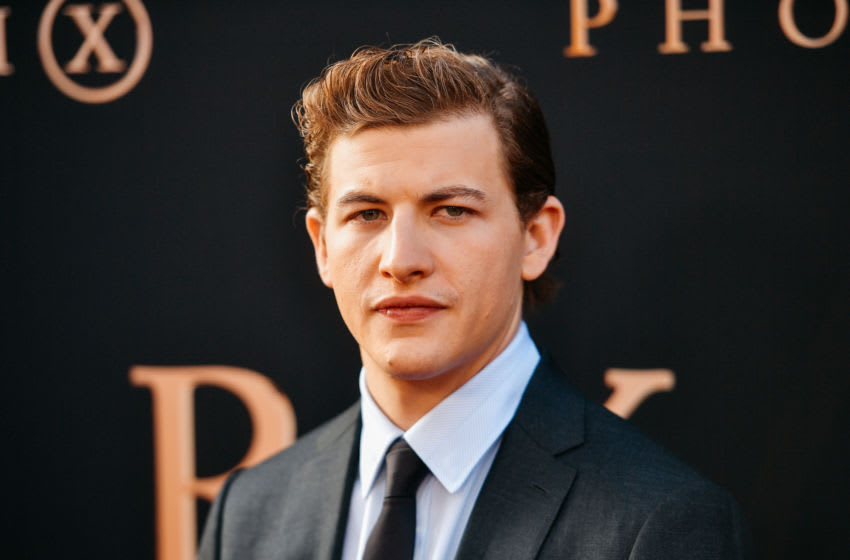 HOLLYWOOD, CALIFORNIA - JUNE 04: (EDITORS NOTE: Image has been processed using digital filters) Tye Sheridan attends the premiere of 20th Century Fox's