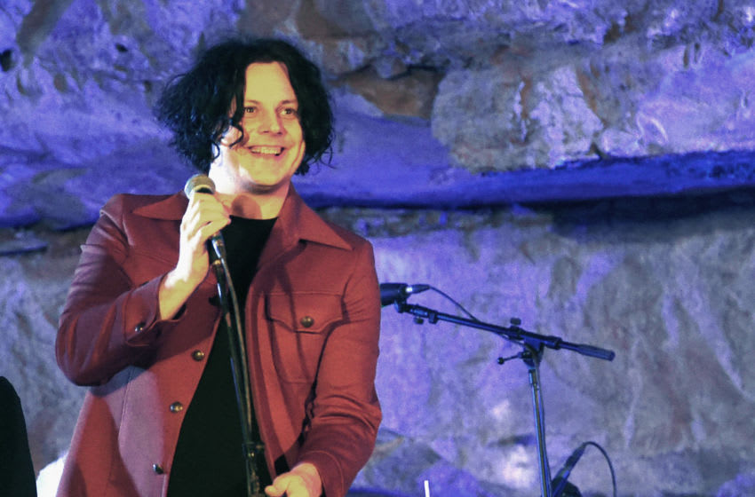 MCMINNVILLE, TN - SEPTEMBER 29: Singer/Songwriter Jack White Hosts Tennessee Tourism & Third Man Records 333 Feet Underground at Cumberland Caverns on September 29, 2017 in McMinnville, Tennessee. (Photo by Rick Diamond/Getty Images for Tennessee Tourism)