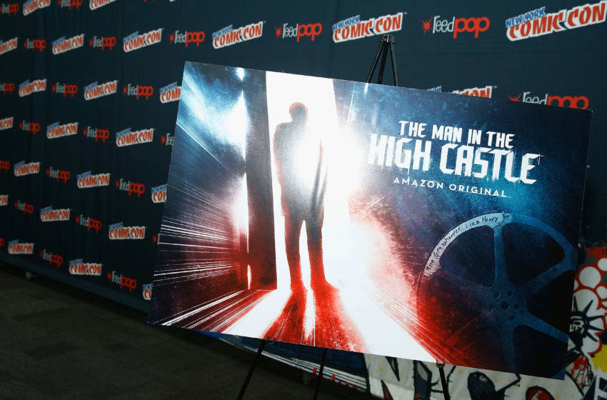 Movie poster on display during the Amazon's production of 'The Man In The High Castle' during the 2016 New York Comic Con - day 3 on October 8, 2016 in New York City. (Photo by John Lamparski/Getty Images)