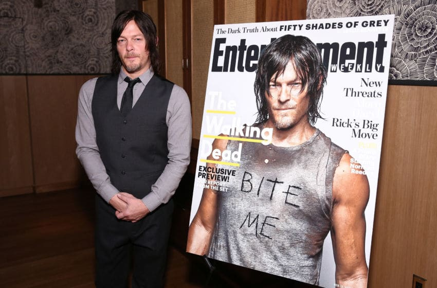NEW YORK, NY - FEBRUARY 10: Norman Reedus attends an intimate dinner hosted by Entertainment Weekly to celebrate the magazines 'The Walking Dead' cover story on February 10, 2015 in New York City. (Photo by Neilson Barnard/Getty Images for Entertainment Weekly)