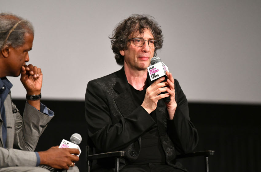 HOLLYWOOD, CALIFORNIA - MAY 16: Neil Gaiman at Film Independent presents special screening of