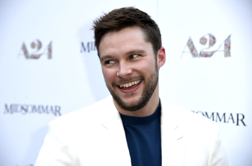 HOLLYWOOD, CALIFORNIA - JUNE 24: Jack Reynor attends the Premiere Of A24's