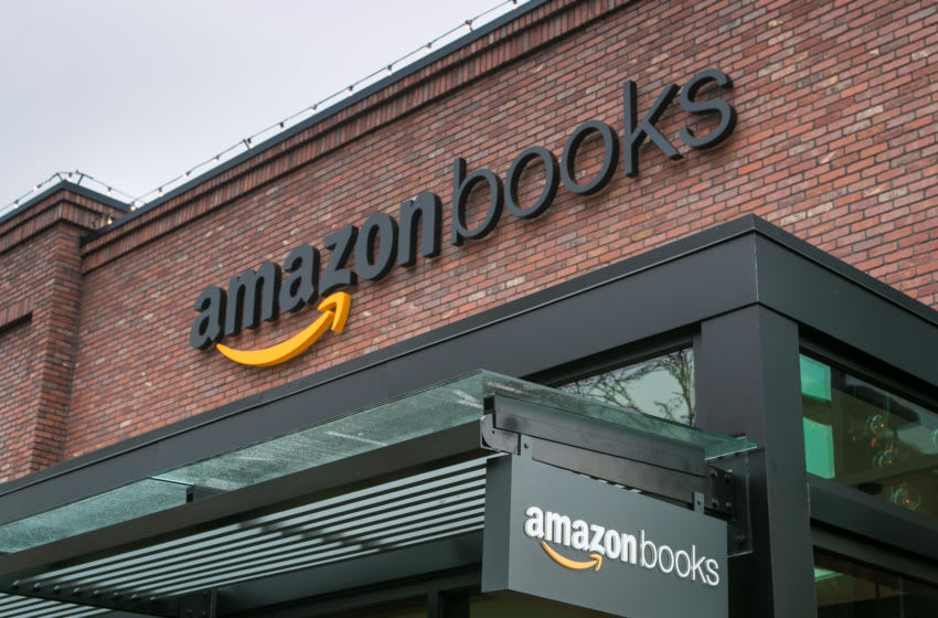 SEATTLE, WA - NOVEMBER 5: Online giant, Amazon.com, has opened its first