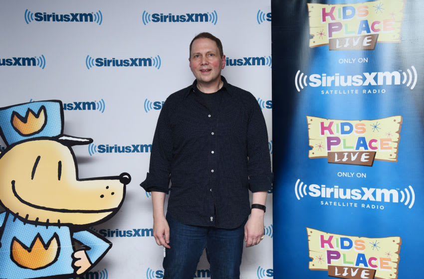 NEW YORK, NY - OCTOBER 21: Children's Author Dav Pilkey visits the SiriusXM Studios for a special interview and performance on SiriusXM's Kids Place Live Channel on October 21, 2016 in New York City. (Photo by Ilya S. Savenok/Getty Images for SiriusXM)