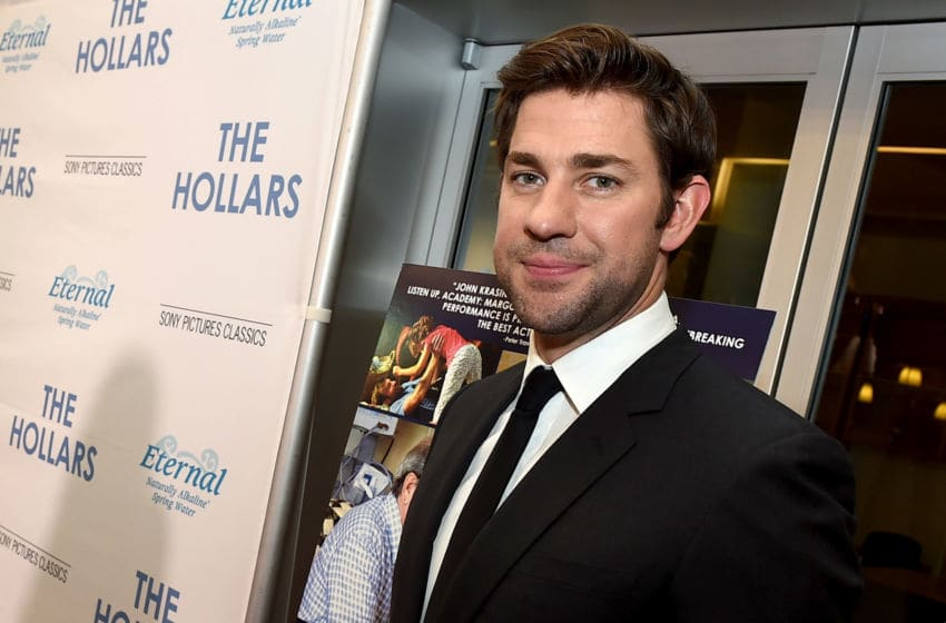 LOS ANGELES, CA - AUGUST 22: Actor/director John Krasinski arrives at the premiere of Sony Pictures Classics' 'The Hollars' at the Linwood Dunn Theatre on August 22, 2016 in Los Angeles, California. (Photo by Kevin Winter/Getty Images)