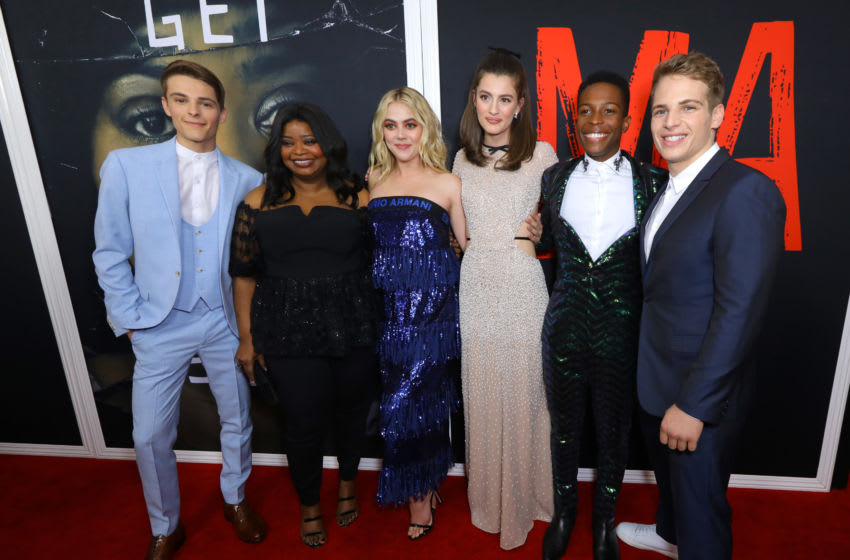 LOS ANGELES, CALIFORNIA - MAY 16: (L-R) Actors Corey Fogelmanis, Octavia Spencer, McKaley Miller, Diana Silvers, Dante Brown and Gianni Paolo attend the special screening of Universal Pictures' 'Ma' at Regal LA Live on May 16, 2019 in Los Angeles, California. (Photo by JC Olivera/Getty Images)