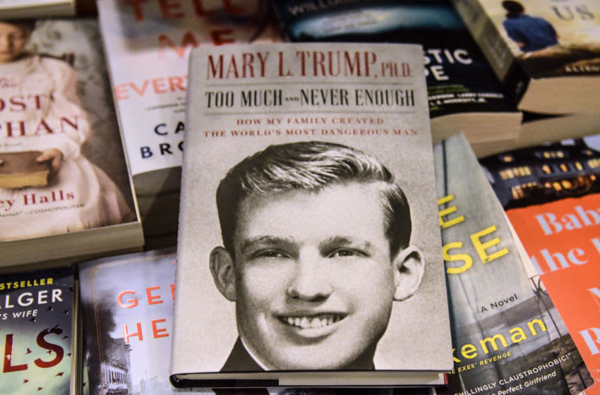 NEW YORK, NY - JULY 14: In this photo illustration, Mary Trump's new book about U.S. President Donald Trump is on display at a book store on July 14, 2020 in the Brooklyn borough in New York City. Although President Trump litigated to stop the release of his niece's tell-all book, a New York Supreme Court ruled it could be published. (Photo illustration by Stephanie Keith/Getty Images)