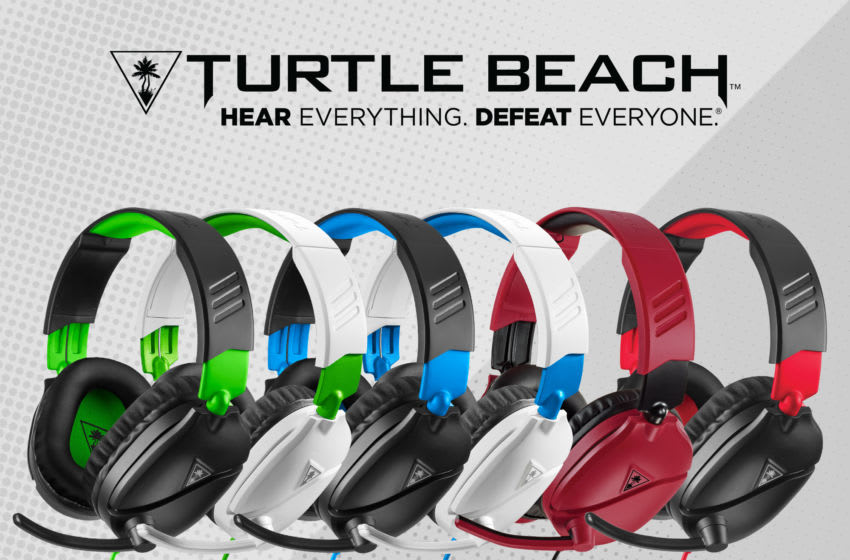 The all-new Turtle Beach Recon 70 redefines entry-level gaming audio. Turtle Beach Corporation.