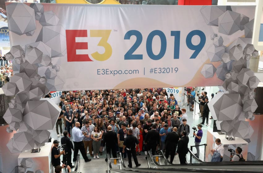 LOS ANGELES, CALIFORNIA - JUNE 11: Game enthusiasts and industry personnel await the opening of the E3 Video Game Convention at the Los Angeles Convention Center on June 11, 2019 in Los Angeles, California. (Photo by Christian Petersen/Getty Images)