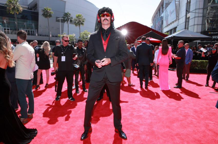 Dr DisRespect attends The 2019 ESPYs (Photo by Rich Fury/Getty Images)