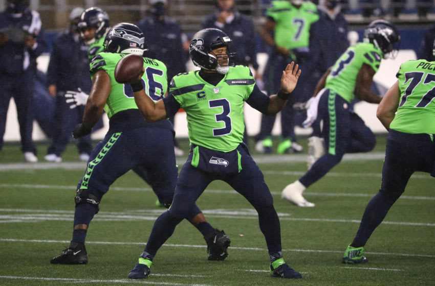Russell Wilson - Seattle Seahawks (Photo by Abbie Parr/Getty Images)