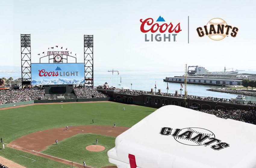 2019 Coors Light Major League Baseball Yeti Cooler (San Francisco Giants)