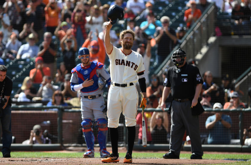 Hunter Pence. (Photo by Robert Reiners/Getty Images)