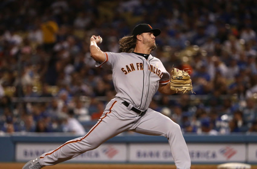 Shaun Anderson of the SF Giants. (Photo by Victor Decolongon/Getty Images)