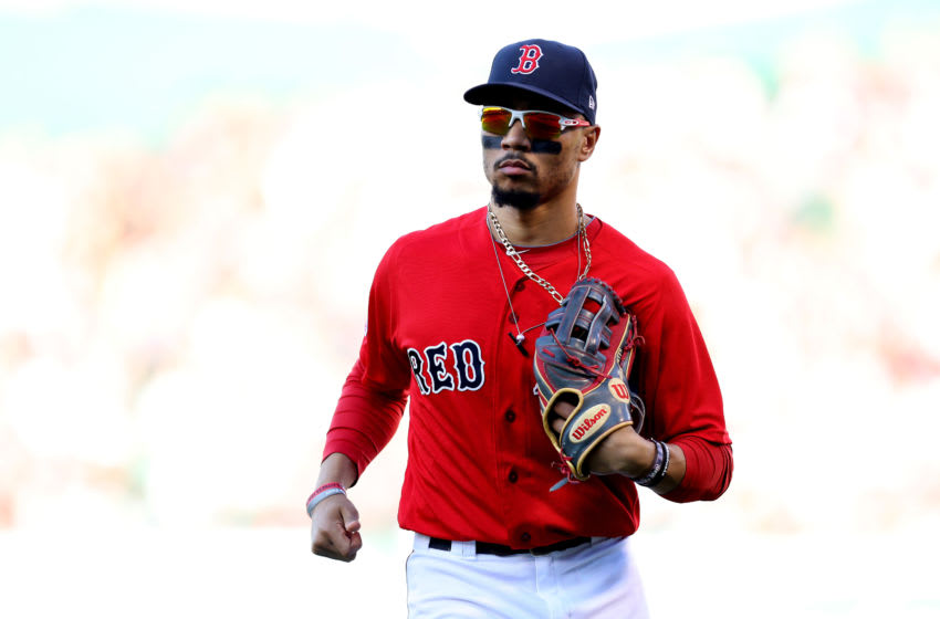 New Dodgers outfielder Mookie Betts. (Photo by Maddie Meyer/Getty Images)