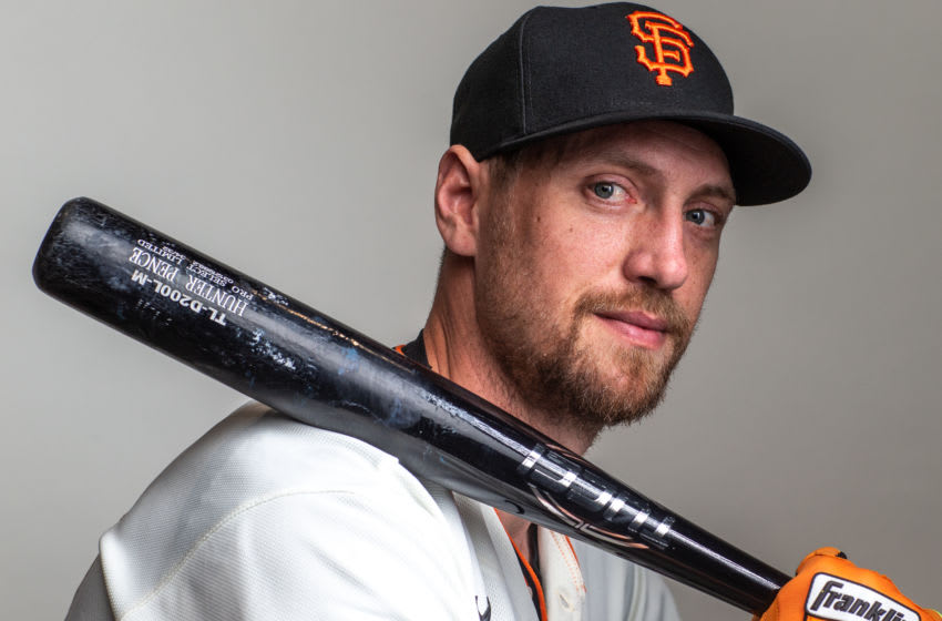 Former SF Giants outfielder Hunter Pence. (Photo by Rob Tringali/Getty Images)
