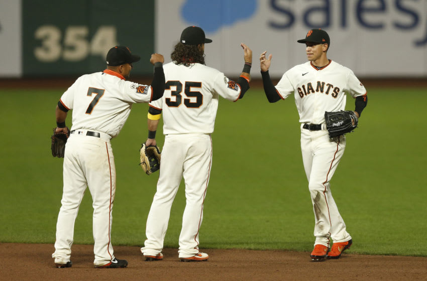 The SF Giants will get to return to the field on Sunday against the San Diego Padres after multiple rounds of negative COVID-19 tests from both organizations. (Photo by Lachlan Cunningham/Getty Images)