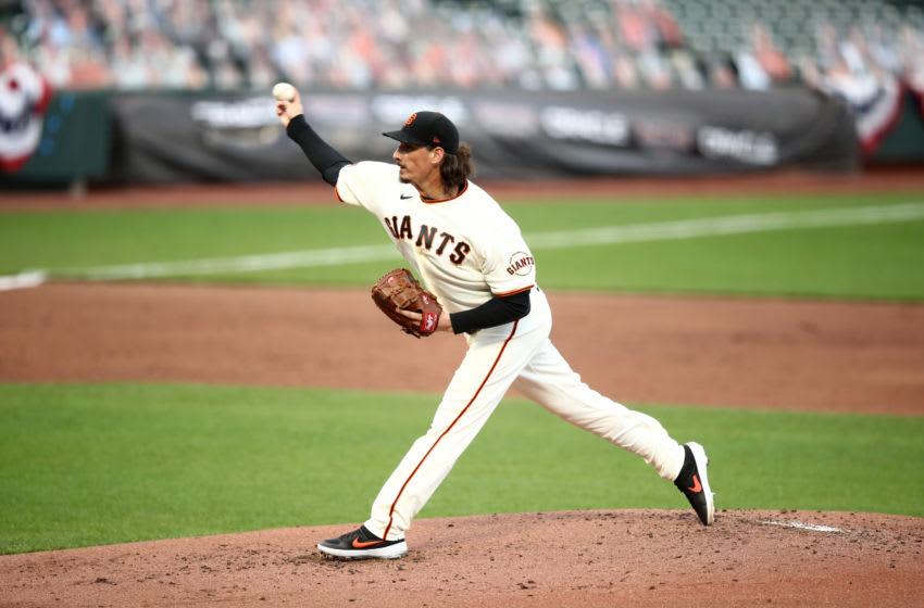 SF Giants right-handed pitcher Jeff Samardzija. (Photo by Ezra Shaw/Getty Images)