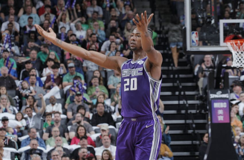 Sacramento Kings Harry Giles (Photo by Rocky Widner/NBAE via Getty Images)