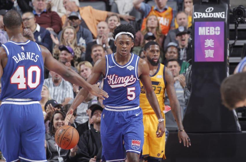 Sacramento Kings De'Aaron Fox (Photo by Rocky Widner/NBAE via Getty Images)