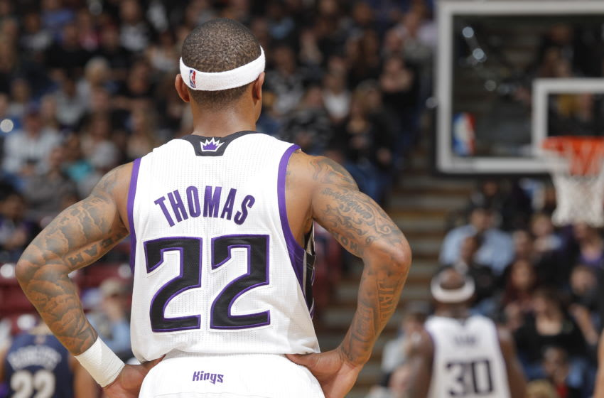 Sacramento Kings Isaiah Thomas (Photo by Rocky Widner/NBAE via Getty Images)