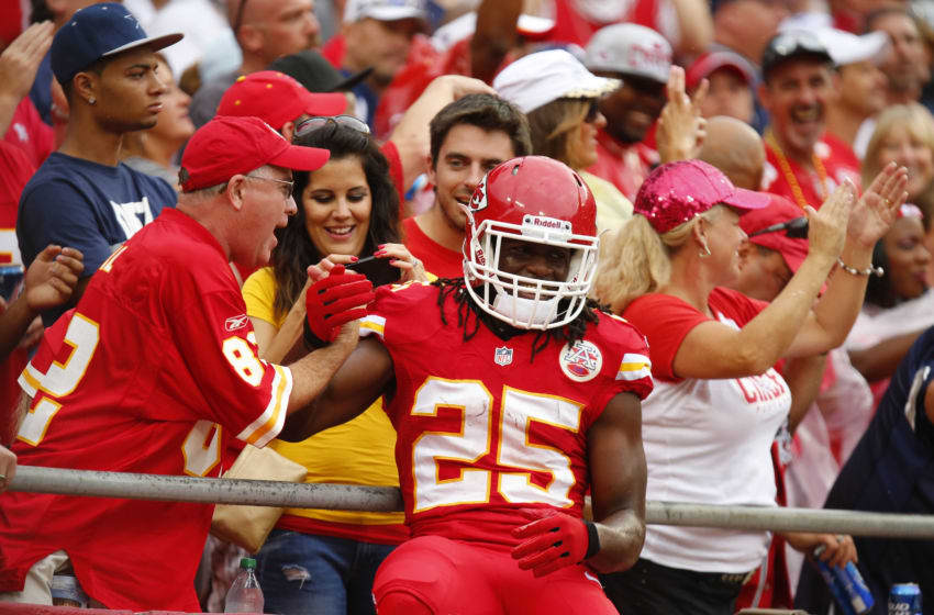 Jamaal Charles (Photo by Kyle Rivas/Getty Images)