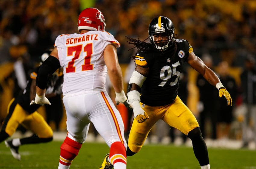 PITTSBURGH, PA - OCTOBER 02: Jarvis Jones