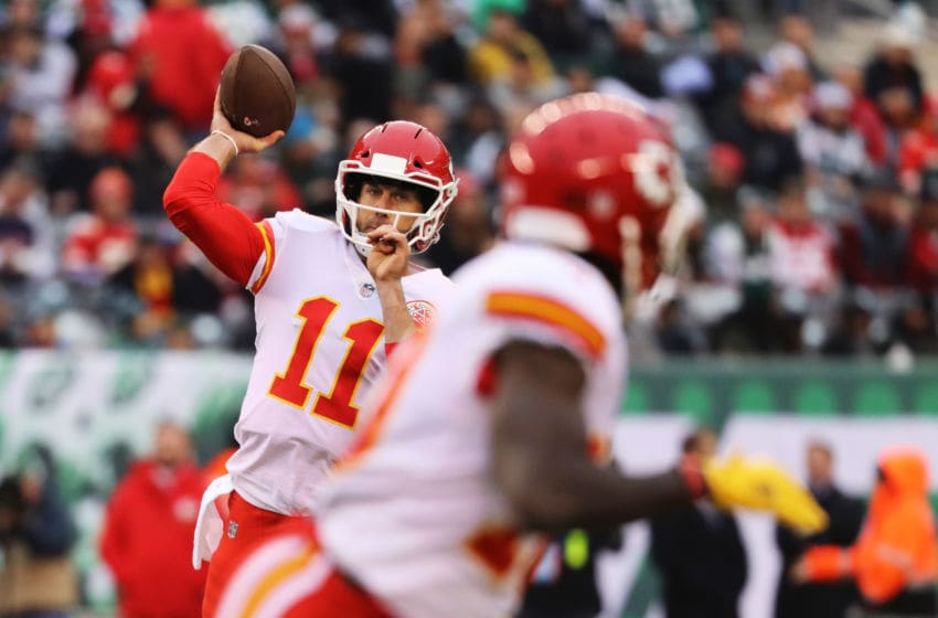 EAST RUTHERFORD, NJ - DECEMBER 03: Alex Smith